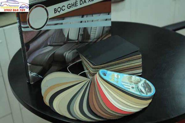 bản màu da nội thất ô tô
