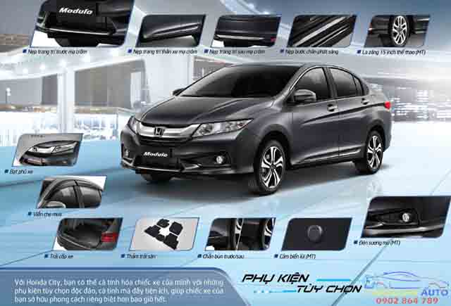 do choi xe honda city