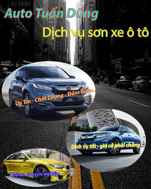 dich vu son xe o to dep